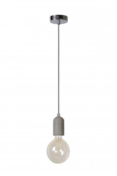 Светильник Lucide 34427/06/41одиночные подвесные светильники<br><br><br>S освещ. до, м2: 2<br>Тип лампы: Накаливания / энергосбережения / светодиодная<br>Тип цоколя: E27<br>Цвет арматуры: серебристый хром<br>Количество ламп: 1<br>Диаметр, мм мм: 58<br>Высота, мм: 1510<br>MAX мощность ламп, Вт: 60