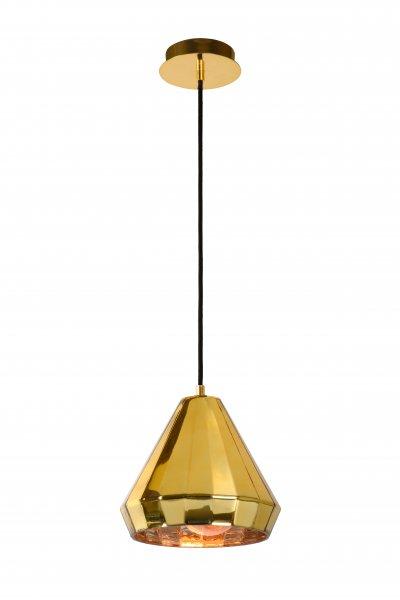 Lucide LYNA 34432/01/01 подвесной светильникОжидается<br><br><br>S освещ. до, м2: 2<br>Тип цоколя: E27<br>Цвет арматуры: латунь<br>Количество ламп: 1<br>Ширина, мм: 220<br>Высота, мм: 1550