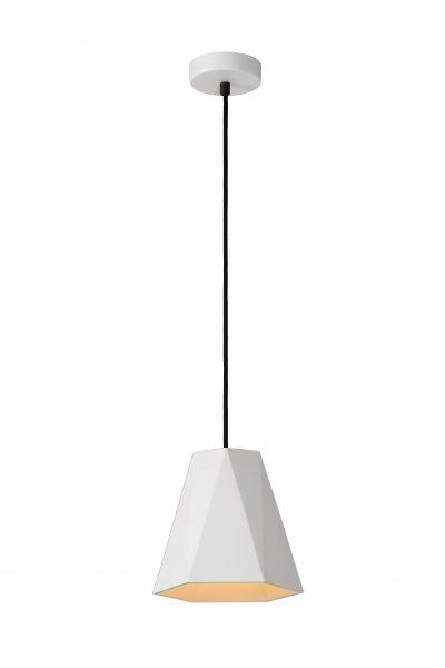 Lucide GIPSY 35404/20/31 подвесной светильникОжидается<br><br><br>S освещ. до, м2: 3<br>Тип цоколя: E27<br>Цвет арматуры: белый<br>Количество ламп: 1<br>Ширина, мм: 200<br>Высота, мм: 250
