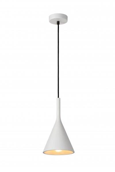 Lucide GIPSY 35406/16/31 подвесной светильникОжидается<br><br><br>S освещ. до, м2: 3<br>Тип цоколя: E27<br>Цвет арматуры: белый<br>Количество ламп: 1<br>Ширина, мм: 200<br>Высота, мм: 250