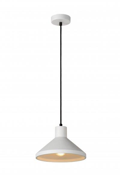 Lucide GIPSY 35407/25/31 подвесной светильникОжидается<br><br><br>S освещ. до, м2: 3<br>Тип цоколя: E27<br>Цвет арматуры: белый<br>Количество ламп: 1<br>Ширина, мм: 250<br>Высота, мм: 1300