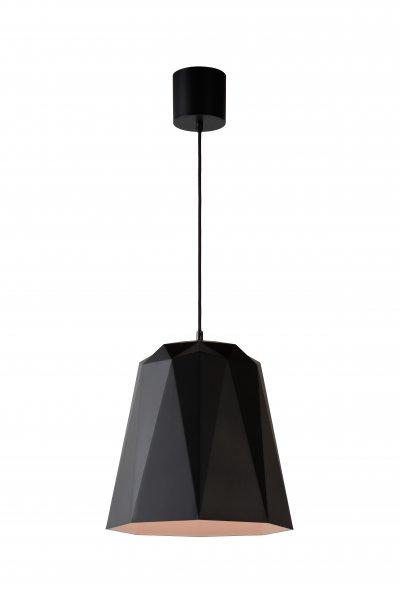 Lucide GEOMETRY 37404/35/30 подвесной светильникОжидается<br><br><br>S освещ. до, м2: 3<br>Тип цоколя: E27<br>Цвет арматуры: черный<br>Количество ламп: 1<br>Ширина, мм: 350<br>Высота, мм: 1660