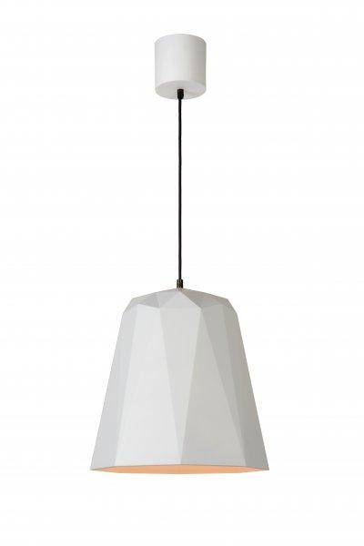 Lucide GEOMETRY 37404/35/31 подвесной светильникОжидается<br><br><br>S освещ. до, м2: 3<br>Тип цоколя: E27<br>Цвет арматуры: белый<br>Количество ламп: 1<br>Ширина, мм: 350<br>Высота, мм: 1660