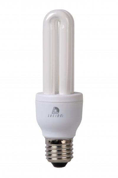 Лампа Lucide 50427/11/31Энергосберегающие лампы 2U<br><br><br>Тип лампы: Энергосбережения<br>Тип цоколя: E27<br>MAX мощность ламп, Вт: 11