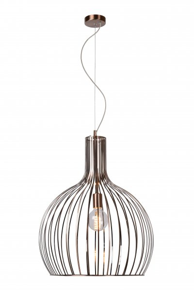 Светильник Lucide 78369/50/17снятые с производства светильники<br><br><br>Тип лампы: Накаливания / энергосбережения / светодиодная<br>Тип цоколя: E27<br>Количество ламп: 1<br>Диаметр, мм мм: 500<br>Высота, мм: 1300<br>MAX мощность ламп, Вт: 60