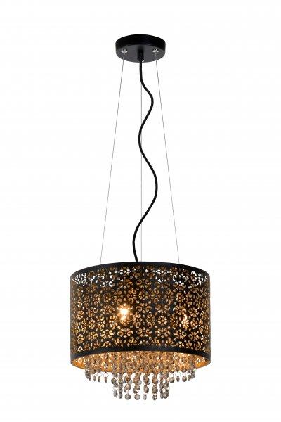 Lucide RAKA 78376/31/30 подвесной светильникОжидается<br><br><br>S освещ. до, м2: 5<br>Тип цоколя: G9<br>Цвет арматуры: черный<br>Количество ламп: 3<br>Ширина, мм: 315<br>Высота, мм: 1570