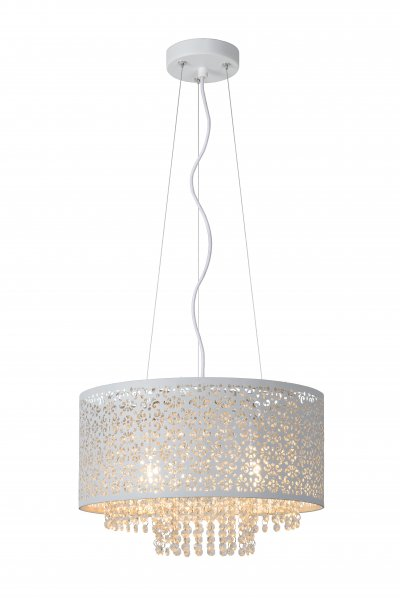 Lucide RAKA 78376/41/31 подвесной светильникОжидается<br><br><br>S освещ. до, м2: 7<br>Тип цоколя: G9<br>Цвет арматуры: белый<br>Количество ламп: 4<br>Ширина, мм: 415<br>Высота, мм: 1570