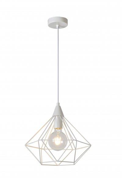 Lucide CECILIA 78378/32/31 подвесной светильникОжидается<br><br><br>S освещ. до, м2: 3<br>Тип цоколя: E27<br>Цвет арматуры: белый<br>Количество ламп: 1<br>Ширина, мм: 325<br>Высота, мм: 1590