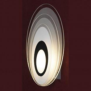Светильник Lussole LSN-0711-01Современные<br>Оригинальный настенный светильник Lussole LSN-0711-01 станет запоминающейся деталью Вашего интерьера, внесет в него шарм и очарование! «Смелая» эллипсоидная конструкция эффектно подчеркнута «холодным» рисунком, в котором присутствуют черный, белый и серый оттенки. Этот источник света сыграет не только свою основную «роль» подсветки небольшой по площади зоны, но и прекрасно дополнит комнату в качестве отдельного элемента декора. Рекомендуем Вам использовать в цветовой палитре помещения похожие тона и два-три контрастных в аксессуарах – тогда интерьер станет  выглядеть по-дизайнерски профессионально, стильно и уютно.<br><br>Тип лампы: LED - светодиодная<br>Тип цоколя: LED<br>Количество ламп: 1<br>Ширина, мм: 160<br>MAX мощность ламп, Вт: 5<br>Расстояние от стены, мм: 60<br>Высота, мм: 280