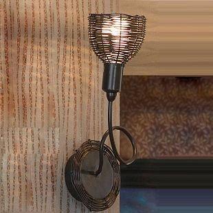 Светильник Lussole Lsn-1001-01Рустика<br>В интернет-магазине «Светодом» представлен широкий выбор настенных бра по привлекательной цене. Это качественные товары от популярных мировых производителей. Благодаря большому ассортименту Вы обязательно подберете под свой интерьер наиболее подходящий вариант.  Оригинальное настенное бра Lussole LSN-1001-01 можно использовать для освещения не только гостиной, но и прихожей или спальни. Модель выполнена из современных материалов, поэтому прослужит на протяжении долгого времени. Обратите внимание на технические характеристики, чтобы сделать правильный выбор.  Чтобы купить настенное бра Lussole LSN-1001-01 в нашем интернет-магазине, воспользуйтесь «Корзиной» или позвоните менеджерам компании «Светодом» по указанным на сайте номерам. Мы доставляем заказы по Москве, Екатеринбургу и другим российским городам.<br><br>S освещ. до, м2: 2<br>Тип лампы: накаливания / энергосбережения / LED-светодиодная<br>Тип цоколя: E14<br>Количество ламп: 1<br>Ширина, мм: 160<br>MAX мощность ламп, Вт: 40<br>Расстояние от стены, мм: 180<br>Высота, мм: 290