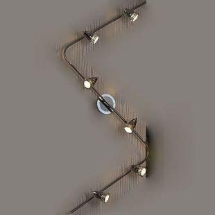 Светильник Lussole lsq-1709-06Более 5 ламп<br><br><br>S освещ. до, м2: 20<br>Крепление: накладной<br>Тип товара: Светильник поворотный спот<br>Скидка, %: 49<br>Тип лампы: галогенная / LED-светодиодная<br>Тип цоколя: gu10<br>Количество ламп: 6<br>Ширина, мм: 120<br>MAX мощность ламп, Вт: 50<br>Длина, мм: 2100<br>Расстояние от стены, мм: 200<br>Цвет арматуры: серебристый