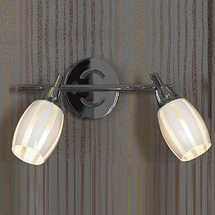 Светильник Lussole lsx-6701-02Двойные<br>Светильники-споты – это оригинальные изделия с современным дизайном. Они позволяют не ограничивать свою фантазию при выборе освещения для интерьера. Такие модели обеспечивают достаточно качественный свет. Благодаря компактным размерам Вы можете использовать несколько спотов для одного помещения.  Интернет-магазин «Светодом» предлагает необычный светильник-спот Lussole LSX-6701-02 по привлекательной цене. Эта модель станет отличным дополнением к люстре, выполненной в том же стиле. Перед оформлением заказа изучите характеристики изделия.  Купить светильник-спот Lussole LSX-6701-02 в нашем онлайн-магазине Вы можете либо с помощью формы на сайте, либо по указанным выше телефонам. Обратите внимание, что у нас склады не только в Москве и Екатеринбурге, но и других городах России.<br><br>S освещ. до, м2: 6<br>Тип лампы: накал-я - энергосбер-я<br>Тип цоколя: E14<br>Количество ламп: 2<br>Ширина, мм: 110<br>MAX мощность ламп, Вт: 40<br>Длина, мм: 310<br>Расстояние от стены, мм: 200<br>Цвет арматуры: серебристый