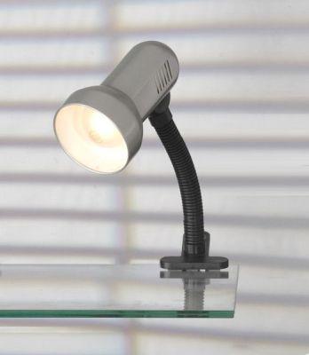 Светильник поворотный спот Lussole LST-4964-01 SOFIAНа прищепке<br>Светильники-споты – это оригинальные изделия с современным дизайном. Они позволяют не ограничивать свою фантазию при выборе освещения для интерьера. Такие модели обеспечивают достаточно качественный свет. Благодаря компактным размерам Вы можете использовать несколько спотов для одного помещения.  Интернет-магазин «Светодом» предлагает необычный светильник-спот Lussole LST-4964-01 по привлекательной цене. Эта модель станет отличным дополнением к люстре, выполненной в том же стиле. Перед оформлением заказа изучите характеристики изделия.  Купить светильник-спот Lussole LST-4964-01 в нашем онлайн-магазине Вы можете либо с помощью формы на сайте, либо по указанным выше телефонам. Обратите внимание, что у нас склады не только в Москве и Екатеринбурге, но и других городах России.<br><br>S освещ. до, м2: 4<br>Тип лампы: накал-я - энергосбер-я<br>Тип цоколя: E27<br>Цвет арматуры: серый<br>Количество ламп: 1<br>Ширина, мм: 160<br>Высота, мм: 310<br>MAX мощность ламп, Вт: 60