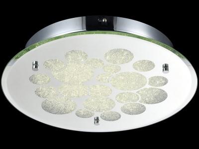 Светильник Maytoni C445-CL-01R-18W-N GlitterКвадратные<br>Настенно-потолочные светильники – это универсальные осветительные варианты, которые подходят для вертикального и горизонтального монтажа. В интернет-магазине «Светодом» Вы можете приобрести подобные модели по выгодной стоимости. В нашем каталоге представлены как бюджетные варианты, так и эксклюзивные изделия от производителей, которые уже давно заслужили доверие дизайнеров и простых покупателей. <br>Настенно-потолочный светильник Maytoni C445-CL-01R-18W-N станет прекрасным дополнением к основному освещению. Благодаря качественному исполнению и применению современных технологий при производстве эта модель будет радовать Вас своим привлекательным внешним видом долгое время. <br>Приобрести настенно-потолочный светильник Maytoni C445-CL-01R-18W-N можно, находясь в любой точке России.<br><br>S освещ. до, м2: 7<br>Тип цоколя: LED<br>Количество ламп: 1<br>Диаметр, мм мм: 350<br>Высота, мм: 65<br>MAX мощность ламп, Вт: 18