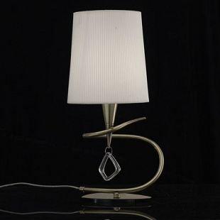 Светильник Mantra 1629 MARAСовременные настольные лампы модерн<br>Настольная лампа – это не просто источник дополнительного освещения, но и оригинальный элемент декора. Его можно установить в спальне, гостиной, кабинете и других комнатах. Интернет-магазин «Светодом» предлагает настольные лампы разных стилей по доступным ценам. Благодаря большому ассортименту Вы обязательно найдете в нашем каталоге именно ту модель, которую искали.   Настольная лампа Mantra 1629 – прекрасный вариант для завершения интерьера. Ее можно включить одновременно с люстрой для более яркого освещения или без нее для создания уютной атмосферы, настраивающей на отдых.   Купить настольную лампу Mantra 1629 Вы можете с помощью виртуальной «Корзины» или по контактным номерам, указанным на сайте.<br><br>S освещ. до, м2: 1<br>Тип лампы: накаливания / энергосбережения / LED-светодиодная<br>Тип цоколя: E14<br>Цвет арматуры: бронзовый античный<br>Количество ламп: 1<br>Диаметр, мм мм: 180<br>Размеры: D 180  H 370<br>Высота, мм: 370<br>MAX мощность ламп, Вт: 20