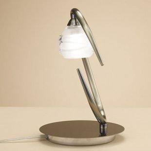 Светильник Mantra 1827 LOOPСовременные настольные лампы модерн<br>Настольная лампа – это не просто источник дополнительного освещения, но и оригинальный элемент декора. Его можно установить в спальне, гостиной, кабинете и других комнатах. Интернет-магазин «Светодом» предлагает настольные лампы разных стилей по доступным ценам. Благодаря большому ассортименту Вы обязательно найдете в нашем каталоге именно ту модель, которую искали.   Настольная лампа Mantra 1827 – прекрасный вариант для завершения интерьера. Ее можно включить одновременно с люстрой для более яркого освещения или без нее для создания уютной атмосферы, настраивающей на отдых.   Купить настольную лампу Mantra 1827 Вы можете с помощью виртуальной «Корзины» или по контактным номерам, указанным на сайте.<br><br>Тип лампы: галогенная<br>Тип цоколя: G9<br>Цвет арматуры: бронзовый античный<br>Количество ламп: 1<br>Диаметр, мм мм: 160<br>Размеры: D 160  H 245<br>Высота, мм: 245<br>MAX мощность ламп, Вт: 33W
