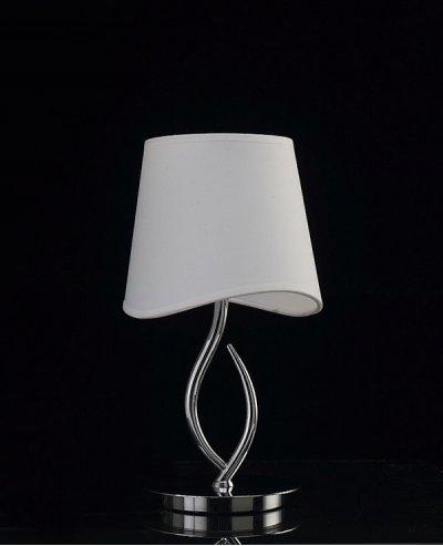 Светильник Mantra 1905 NINETTEсовременные настольные лампы модерн<br>Настольная лампа – это не просто источник дополнительного освещения, но и оригинальный элемент декора. Его можно установить в спальне, гостиной, кабинете и других комнатах. Интернет-магазин «Светодом» предлагает настольные лампы разных стилей по доступным ценам. Благодаря большому ассортименту Вы обязательно найдете в нашем каталоге именно ту модель, которую искали. <br> Настольная лампа Mantra 1905 – прекрасный вариант для завершения интерьера. Ее можно включить одновременно с люстрой для более яркого освещения или без нее для создания уютной атмосферы, настраивающей на отдых. <br> Купить настольную лампу Mantra 1905 Вы можете с помощью виртуальной «Корзины» или по контактным номерам, указанным на сайте.