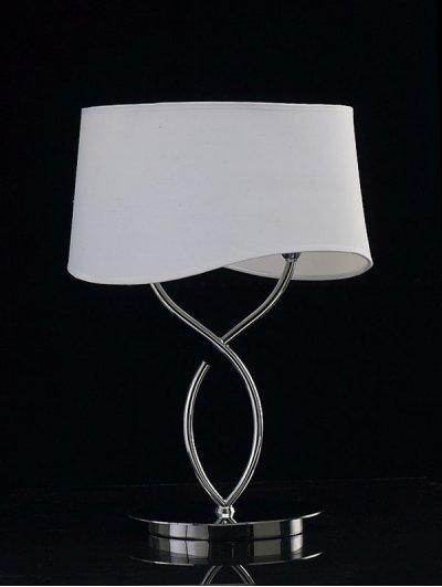 Светильник Mantra 1906 NINETTEСовременные настольные лампы модерн<br>Настольная лампа – это не просто источник дополнительного освещения, но и оригинальный элемент декора. Его можно установить в спальне, гостиной, кабинете и других комнатах. Интернет-магазин «Светодом» предлагает настольные лампы разных стилей по доступным ценам. Благодаря большому ассортименту Вы обязательно найдете в нашем каталоге именно ту модель, которую искали. <br> Настольная лампа Mantra 1906 – прекрасный вариант для завершения интерьера. Ее можно включить одновременно с люстрой для более яркого освещения или без нее для создания уютной атмосферы, настраивающей на отдых. <br> Купить настольную лампу Mantra 1906 Вы можете с помощью виртуальной «Корзины» или по контактным номерам, указанным на сайте.<br><br>S освещ. до, м2: 2<br>Тип лампы: накаливания / энергосбережения / LED-светодиодная<br>Тип цоколя: E14<br>Цвет арматуры: серебристый хром<br>Количество ламп: 2<br>Ширина, мм: 170<br>Размеры: L 340  W 170  H 457<br>Длина, мм: 340<br>Высота, мм: 457<br>MAX мощность ламп, Вт: 20