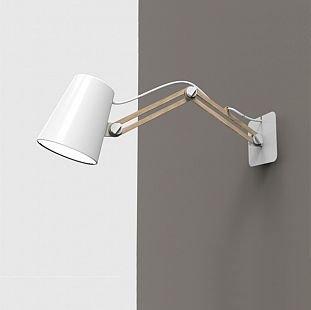Светильник Mantra 3773 Lookerсветильники на штанге настенные<br><br><br>S освещ. до, м2: 1<br>Тип лампы: накаливания / энергосбережения / LED-светодиодная<br>Тип цоколя: E27<br>Цвет арматуры: белый<br>Количество ламп: 1<br>Размеры: L 550 H 180<br>Длина, мм: 200 - 550<br>Высота, мм: 180<br>Оттенок (цвет): белый<br>MAX мощность ламп, Вт: 15