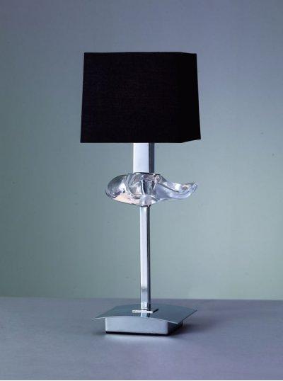 Светильник Mantra 789 AKIRAСовременные<br>Настольная лампа – это не просто источник дополнительного освещения, но и оригинальный элемент декора. Его можно установить в спальне, гостиной, кабинете и других комнатах. Интернет-магазин «Светодом» предлагает настольные лампы разных стилей по доступным ценам. Благодаря большому ассортименту Вы обязательно найдете в нашем каталоге именно ту модель, которую искали.   Настольная лампа Mantra 789 – прекрасный вариант для завершения интерьера. Ее можно включить одновременно с люстрой для более яркого освещения или без нее для создания уютной атмосферы, настраивающей на отдых.   Купить настольную лампу Mantra 789 Вы можете с помощью виртуальной «Корзины» или по контактным номерам, указанным на сайте.<br><br>S освещ. до, м2: 4<br>Тип лампы: накаливания / энергосбережения / LED-светодиодная<br>Тип цоколя: E14<br>Цвет арматуры: серебристый хром<br>Количество ламп: 1<br>Диаметр, мм мм: 140<br>Размеры: D 140 H 380<br>Высота, мм: 380<br>MAX мощность ламп, Вт: 60