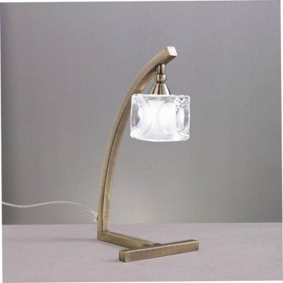 Светильник Mantra 994 CUADRAXСовременные настольные лампы модерн<br>Настольная лампа – это не просто источник дополнительного освещения, но и оригинальный элемент декора. Его можно установить в спальне, гостиной, кабинете и других комнатах. Интернет-магазин «Светодом» предлагает настольные лампы разных стилей по доступным ценам. Благодаря большому ассортименту Вы обязательно найдете в нашем каталоге именно ту модель, которую искали.   Настольная лампа Mantra 994 – прекрасный вариант для завершения интерьера. Ее можно включить одновременно с люстрой для более яркого освещения или без нее для создания уютной атмосферы, настраивающей на отдых.   Купить настольную лампу Mantra 994 Вы можете с помощью виртуальной «Корзины» или по контактным номерам, указанным на сайте.<br><br>Тип лампы: галогенная<br>Тип цоколя: G9<br>Цвет арматуры: бронзовый античный<br>Количество ламп: 1<br>Размеры: W 150 H 350<br>Длина, мм: 150<br>Высота, мм: 350<br>MAX мощность ламп, Вт: 40W