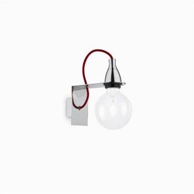 Купить Светильник бра Ideal Lux MINIMAL AP1 CROMO, Италия