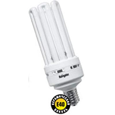 Лампа энергосберегающая Navigator 94 080 NCL-6U-85-840-E40С цоколем E40<br>Колба лампы NCL-SH индустриальной серии представляет собой полуспираль, изготовленную из люминесцентной трубки диаметром 11 мм в лампах мощностью 45 Вт. и 55 Вт., 16 мм в лампах мощностью 85 Вт. и 105 Вт. Лампы NCL-SH поставляются с цоколем Е27, мощностью 45 Вт. и 55 Вт., с цоколем E40, мощностью 85 Вт. и 105 Вт. и представлены в цветовой температуре 4000К. Лампы мощностью 105 Вт. в данный момент поставляются в колбе 6U. Лампы в новой колбе SH будут доступны после распродажи текущей версии. Лампы NCL-8U индустриальной серии поставляются с цоколем E40, в цветовой температуре 4000 К, двух мощностей: 150 Вт и 200 Вт. Конструктивными особенностями индустриальных ламп Navigator NCL-SH являются максимальный световой поток при температуре окружающей среды +10 С, малая температурная зависимость светового потока и высокая надежность ламп.<br><br>Тип товара: Компактная люминесцентная лампа (клл)<br>Цветовая t, К: CW - холодный белый 4000 К<br>Тип лампы: Энергосберегающая<br>Тип цоколя: E40<br>MAX мощность ламп, Вт: 85