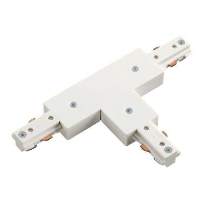 Соединитель для шинопровода T-образный Novotech 135010Шинопровод<br><br><br>Ширина, мм: 76<br>Оттенок (цвет): белый