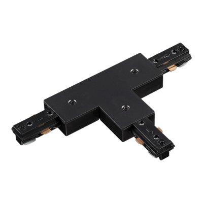 Соединитель для шинопровода T-образный Novotech 135011Шинопровод<br><br><br>Ширина, мм: 76<br>Оттенок (цвет): черный