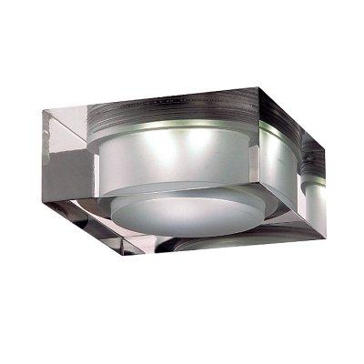 Novotech EASE 357048 Встраиваемый светильникКвадратные LED<br>Встраиваемый неповоротный светодиодный светильник, укомплектован блоком питания модели Novotech 357048 из серии EASE отличается следующим качеством: Основание светильника – алюминиевое литьё. Это сплав, основными  достоинствами которого являются — устойчивость к практически всем видам негативного воздействия окружающей среды, коррозии, небольшой вес, по сравнению с другими видами металла и   экологическая безопасность материала.  Рассеиватель произведён из  акрила. Свойствами которого являются: высокая светопропускаемость — 92 %, которая не изменяется с течением времени, сохраняя свой оригинальный цвет, сопротивляемость удару в 5 раз больше, чем у стекла, устойчивость к воздействию влаги, бактерий и микроорганизмов, морозостойкость и экологичность.<br><br>S освещ. до, м2: 3<br>Тип товара: Встраиваемый светильник<br>Цветовая t, К: 6500<br>Тип лампы: LED-светодиодная<br>Тип цоколя: 3LED<br>Количество ламп: 3<br>MAX мощность ламп, Вт: 3<br>Диаметр, мм мм: 70<br>Диаметр врезного отверстия, мм: 65<br>Высота, мм: 50<br>Оттенок (цвет): белый<br>Цвет арматуры: серебристый