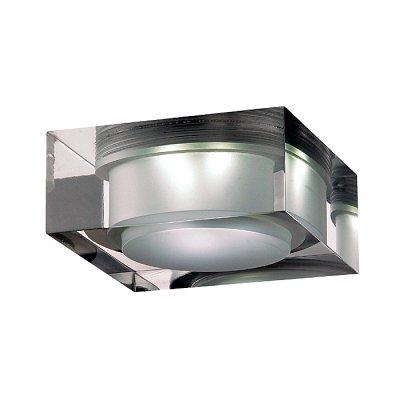 Novotech EASE 357049 Встраиваемый светильникКвадратные LED<br>Встраиваемый неповоротный светодиодный светильник, укомплектован блоком питания модели Novotech 357049 из серии EASE отличается следующим качеством: Основание светильника – алюминиевое литьё. Это сплав, основными  достоинствами которого являются — устойчивость к практически всем видам негативного воздействия окружающей среды, коррозии, небольшой вес, по сравнению с другими видами металла и   экологическая безопасность материала.  Рассеиватель произведён из  акрила. Свойствами которого являются: высокая светопропускаемость — 92 %, которая не изменяется с течением времени, сохраняя свой оригинальный цвет, сопротивляемость удару в 5 раз больше, чем у стекла, устойчивость к воздействию влаги, бактерий и микроорганизмов, морозостойкость и экологичность.<br><br>S освещ. до, м2: 3<br>Цветовая t, К: 6500<br>Тип лампы: LED-светодиодная<br>Тип цоколя: 6LED<br>Количество ламп: 6<br>MAX мощность ламп, Вт: 6<br>Диаметр, мм мм: 90<br>Диаметр врезного отверстия, мм: 80<br>Высота, мм: 70<br>Оттенок (цвет): белый<br>Цвет арматуры: серебристый