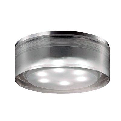 Novotech EASE 357051 Встраиваемый светильникКруглые LED<br>Встраиваемый неповоротный светодиодный светильник, укомплектован блоком питания модели Novotech 357051 из серии EASE отличается следующим качеством: Основание светильника – алюминиевое литьё. Это сплав, основными  достоинствами которого являются — устойчивость к практически всем видам негативного воздействия окружающей среды, коррозии, небольшой вес, по сравнению с другими видами металла и   экологическая безопасность материала.  Рассеиватель произведён из  акрила. Свойствами которого являются: высокая светопропускаемость — 92 %, которая не изменяется с течением времени, сохраняя свой оригинальный цвет, сопротивляемость удару в 5 раз больше, чем у стекла, устойчивость к воздействию влаги, бактерий и микроорганизмов, морозостойкость и экологичность.<br><br>S освещ. до, м2: 3<br>Цветовая t, К: 6500<br>Тип лампы: LED-светодиодная<br>Тип цоколя: 3LED<br>Количество ламп: 3<br>MAX мощность ламп, Вт: 3<br>Диаметр, мм мм: 70<br>Диаметр врезного отверстия, мм: 65<br>Высота, мм: 50<br>Оттенок (цвет): белый<br>Цвет арматуры: серебристый