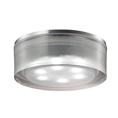 Novotech EASE 357052 Встраиваемый светильникКруглые LED<br>Встраиваемый неповоротный светодиодный светильник, укомплектован блоком питания модели Novotech 357052 из серии EASE отличается следующим качеством: Основание светильника – алюминиевое литьё. Это сплав, основными  достоинствами которого являются — устойчивость к практически всем видам негативного воздействия окружающей среды, коррозии, небольшой вес, по сравнению с другими видами металла и   экологическая безопасность материала.  Рассеиватель произведён из  акрила. Свойствами которого являются: высокая светопропускаемость — 92 %, которая не изменяется с течением времени, сохраняя свой оригинальный цвет, сопротивляемость удару в 5 раз больше, чем у стекла, устойчивость к воздействию влаги, бактерий и микроорганизмов, морозостойкость и экологичность.<br><br>S освещ. до, м2: 3<br>Цветовая t, К: 6500<br>Тип лампы: LED-светодиодная<br>Тип цоколя: 6LED<br>Количество ламп: 6<br>MAX мощность ламп, Вт: 6<br>Диаметр, мм мм: 90<br>Диаметр врезного отверстия, мм: 80<br>Высота, мм: 70<br>Оттенок (цвет): белый<br>Цвет арматуры: серебристый