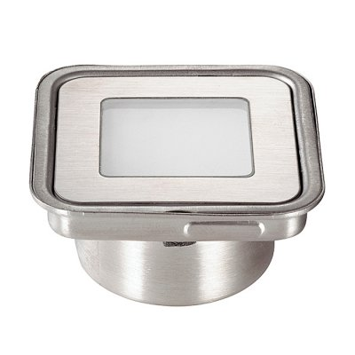 Novotech LED GROUND 357141 Светильинк для бассейнаДля бассейна<br>Ландшафтный встраиваемый светодиодный светильник модели Novotech 357141 из серии LED GROUND отличается следующим качеством: Корпус светильника сделано из нержавеющей стали. Её главным преимуществом является  большой период эксплуатации. Сталь по праву можно считать вечным материалом. Так  же преимуществами являются устойчивость к химическим, атмосферным и механическим воздействиям и эстетичный внешний вид. Благодаря зеркальной полировке,  обеспечивается высокая стойкость металла к коррозии. Рассеиватель сделан из закаленного стекла. Оно выдерживает температуру от -70 до 250С., а так же в 5-6 раз прочнее обычного. Высокие эксплуатационные характеристики, в частности, высокая механическая прочность. Идеально подходит для декоративной подсветки лестничных пролётов, террас, подпорных стенок. Различные варианты цвета освещения позволяют создавать незабываемые по красоте интерьеры и внешние открытые территории. Срок службы светодиодов до 40000 - 50000 часов.<br><br>Цветовая t, К: RGB<br>Тип лампы: LED - светодиодная<br>Тип цоколя: LED<br>Цвет арматуры: нержавеющая сталь<br>Количество ламп: 12 LED<br>Ширина, мм: 58,5<br>Длина, мм: 58,5