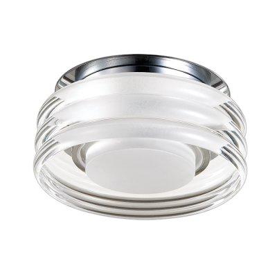 Novotech CALURA 357154 Встраиваемый светильникКруглые LED<br>Встраиваемый светодиодный светильник модели Novotech 357154 из серии CALURA отличается следующим качеством: Основание светильника сделано из металла. Это популярный и востребованный материал благодаря ряду качеств. К ним относится: повышенная прочность, износостойкость и долговечность.Корпус светильника произведен из алюминия. Это металл, основными  достоинствами которого являются — устойчивость к практически всем видам негативного воздействия окружающей среды, коррозии, небольшой вес, по сравнению с другими видами металла и   экологическая безопасность материала.  Рассеиватель произведён из  акрил. Свойствами которого являются: высокая светопропускаемость — 92 %, которая не изменяется с течением времени, сохраняя свой оригинальный цвет, сопротивляемость удару в 5 раз больше, чем у стекла, устойчивость к воздействию влаги, бактерий и микроорганизмов, морозостойкость и экологичность.<br><br>Установка на натяжной потолок: имеется<br>S освещ. до, м2: 3<br>Цветовая t, К: 4000<br>Тип лампы: светодиодная<br>Количество ламп: 1<br>MAX мощность ламп, Вт: 3<br>Диаметр, мм мм: 95<br>Диаметр врезного отверстия, мм: 60<br>Высота, мм: 80<br>Цвет арматуры: серебристый хром