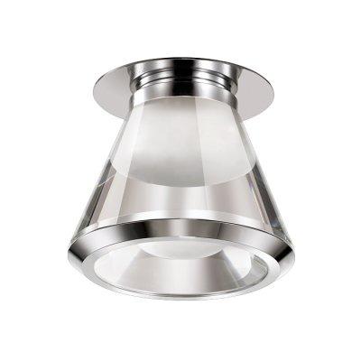 Novotech CALURA 357160 Встраиваемый светильникКруглые LED<br>Встраиваемый светодиодный светильник модели Novotech 357160 из серии CALURA отличается следующим качеством: Основание светильника сделано из металла. Это популярный и востребованный материал благодаря ряду качеств. К ним относится: повышенная прочность, износостойкость и долговечность.Корпус светильника произведен из алюминия. Это металл, основными  достоинствами которого являются — устойчивость к практически всем видам негативного воздействия окружающей среды, коррозии, небольшой вес, по сравнению с другими видами металла и   экологическая безопасность материала.  Рассеиватель произведён из  акрил. Свойствами которого являются: высокая светопропускаемость — 92 %, которая не изменяется с течением времени, сохраняя свой оригинальный цвет, сопротивляемость удару в 5 раз больше, чем у стекла, устойчивость к воздействию влаги, бактерий и микроорганизмов, морозостойкость и экологичность.<br><br>Установка на натяжной потолок: имеется<br>S освещ. до, м2: 3<br>Цветовая t, К: 4000<br>Тип лампы: LED<br>Цвет арматуры: серебристый хром<br>Количество ламп: 1<br>Диаметр, мм мм: 92<br>Диаметр врезного отверстия, мм: 60<br>Высота, мм: 105<br>Оттенок (цвет): серебристый<br>MAX мощность ламп, Вт: 3