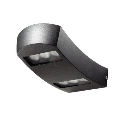 Novotech SUBMARINE 357224 Настенный светильник браНастенные<br>Декоративный светодиодный уличный настенный светильник модели Novotech 357224 из серии SUBMARINE отличается следующим качеством: Корпус светильника сделан из алюминия. Это металл, основными  достоинствами которого являются — устойчивость к практически всем видам негативного воздействия окружающей среды, коррозии, небольшой вес, по сравнению с другими видами металла и   экологическая безопасность материала. Рассеиватель сделан из закаленного стекла. Оно выдерживает температуру от -70 до 250С., а так же в 5-6 раз прочнее обычного. Экономичность (КПД порядка 90%), отсутствие токсичных элементов (не наносят вред здоровью, не требуют специальной утилизации), отсутствие ультрафиолетового излучения, пожаробезопасность  (не нагреваются),  морозостойкость, ударопрочность и устойчивость к вибрациям. Срок службы светодиодов до 25000 часов. Диапазон рабочих температур от -20 до +50 градусов Цельсия.<br><br>Тип лампы: LED - светодиодная<br>Ширина, мм: 120<br>MAX мощность ламп, Вт: 6<br>Длина, мм: 112<br>Высота, мм: 220<br>Цвет арматуры: черный