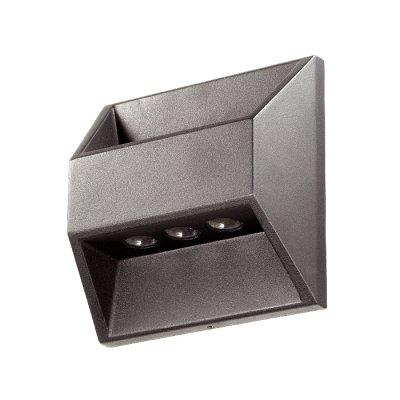 Novotech SUBMARINE 357227 Настенный светильник браНастенные<br>Декоративный светодиодный уличный настенный светильник модели Novotech 357227 из серии SUBMARINE отличается следующим качеством: Корпус светильника сделан из алюминия. Это металл, основными  достоинствами которого являются — устойчивость к практически всем видам негативного воздействия окружающей среды, коррозии, небольшой вес, по сравнению с другими видами металла и   экологическая безопасность материала. Рассеиватель сделан из закаленного стекла. Оно выдерживает температуру от -70 до 250С., а так же в 5-6 раз прочнее обычного. Экономичность (КПД порядка 90%), отсутствие токсичных элементов (не наносят вред здоровью, не требуют специальной утилизации),  отсутствие ультрафиолетового излучения, пожаробезопасность  (не нагреваются),  морозостойкость, ударопрочность и устойчивость к вибрациям. Срок службы светодиодов до 25000 часов. Диапазон рабочих температур от -20 до +50 градусов Цельсия.<br><br>Цветовая t, К: 4000<br>Тип лампы: LED - светодиодная<br>Ширина, мм: 160<br>MAX мощность ламп, Вт: 6<br>Расстояние от стены, мм: 62<br>Высота, мм: 160<br>Цвет арматуры: черный