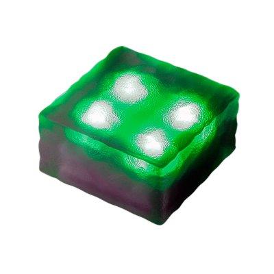 Novotech TILE 357248 Уличный светильникГрунтовые<br>Декоративный уличный светодиодный светильник модели Novotech 357248 из серии TILE отличается следующим качеством: Преимущества темперированного стекла: Механическая прочность Стойкость к перепадам температур Безопасность: в отличии от обычного стекла темперированное, разбиваясь, образует осколки с тупыми нережущими гранями, не способными причинить вреда Экономичность (КПД порядка 90%), отсутствие токсичных элементов (не наносят вред здоровью, не требуют специальной утилизации),  отсутствие ультрафиолетового излучения, пожаробезопасность  (не нагреваются),  морозостойкость, ударопрочность и устойчивость к вибрациям. Срок службы светодиодов - 30000 часов. Время автономной работы - 6 часов. Диапазон рабочих температур от -25 до +75 градусов Цельсия.<br><br>Тип лампы: LED - светодиодная<br>Ширина, мм: 100<br>Длина, мм: 100<br>Высота, мм: 50