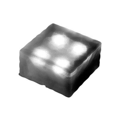Novotech TILE 357249 Уличный светильникГрунтовые<br>Декоративный уличный светодиодный светильник модели Novotech 357249 из серии TILE отличается следующим качеством: Преимущества темперированного стекла: Механическая прочность Стойкость к перепадам температур Безопасность: в отличии от обычного стекла темперированное, разбиваясь, образует осколки с тупыми нережущими гранями, не способными причинить вреда Экономичность (КПД порядка 90%), отсутствие токсичных элементов (не наносят вред здоровью, не требуют специальной утилизации),  отсутствие ультрафиолетового излучения, пожаробезопасность  (не нагреваются),  морозостойкость, ударопрочность и устойчивость к вибрациям. Срок службы светодиодов - 30000 часов. Время автономной работы - 6 часов. Диапазон рабочих температур от -25 до +75 градусов Цельсия.<br><br>Тип лампы: LED - светодиодная<br>Ширина, мм: 100<br>Длина, мм: 100<br>Высота, мм: 50