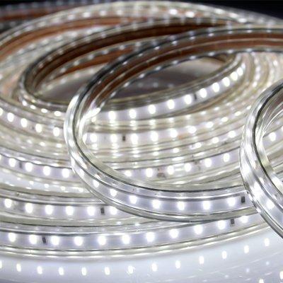 Novotech LED-STRIP 357252 Лента светодиоднаяВлагозащищенная<br>Лента светодиодная модели Novotech 357252 из серии LED-STRIP отличается следующим качеством: Основной отличительной особенностью этих лент является возможность их работы от сети  220В. Допускается сборка линии длиной до 50 метров от одного источника питения. Герметичное влагозащищенное исполн<br><br>Цветовая t, К: CW - холодный белый 4000 К<br>Тип лампы: LED - светодиодная<br>Количество ламп: 240шт/м<br>MAX мощность ламп, Вт: 7<br>Длина, мм: 2000