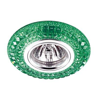 Novotech CORAL 357300 Светильник встраиваемыйКруглые<br>Встраиваемый светильник со светодиодной подсветкой и встроенным драйвером модели Novotech 357300 из серии CORAL отличается следующим качеством: Корпус светильника сделан из полиуретана. Полиуретан мало подвержен старению, стойкий к абразивному износу и имеет высокую стойкость к воздействию окружающей среды (озону, ультрафиолетовым лучам и морской воде). Имееется возможность раздельного включения LED и лампы, при использовании двухклавишного выключателя света.<br><br>Тип лампы: галогенная/LED<br>Тип цоколя: gu5.3<br>MAX мощность ламп, Вт: 50<br>Диаметр, мм мм: 100<br>Диаметр врезного отверстия, мм: 60<br>Высота, мм: 25<br>Цвет арматуры: зеленый