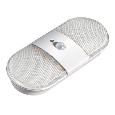 Мебельный светильник Novotech 357441 MADERAОжидается<br>Мебельный накладной светильник, материал - пластик АБС + поликарбонат. Сенсор движения + свет. Чувствительность на растоянии 3-х метров, длительность свечения в течении 30 секунд.<br><br>Цветовая t, К: 4000K<br>Ширина, мм: 63,4<br>MAX мощность ламп, Вт: 6LED SMD2835 0,6W<br>Длина, мм: 152,5<br>Высота, мм: 26,2<br>Оттенок (цвет): белый