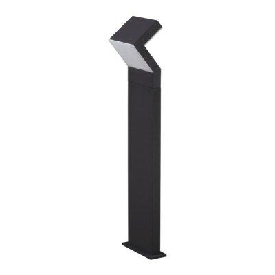 Ландшафтный светильник Novotech 357446 ROCAОдиночные столбы<br>Ландшафтный светодиодный светильник, материал алюминий + поликарбонат. Температурный режим: от -20 до +40С.<br><br>Цветовая t, К: 3000K<br>Ширина, мм: 148<br>MAX мощность ламп, Вт: 100LED SMD2835 20W<br>Длина, мм: 220<br>Высота, мм: 800<br>Оттенок (цвет): темно-серый