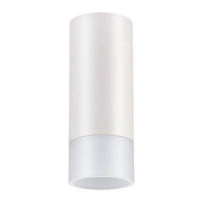 Накладной светильник Novotech 357459 SOLOНакладные точечные<br><br><br>S освещ. до, м2: 4<br>Цветовая t, К: 3000К<br>Цвет арматуры: белый<br>Высота, мм: 140<br>Оттенок (цвет): матовый белый<br>MAX мощность ламп, Вт: COB 10W