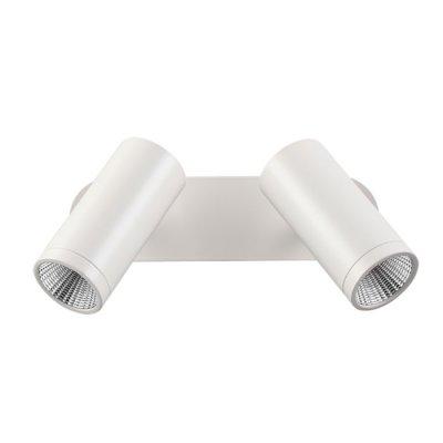 Накладной светильник Novotech 357462 TUBOдвойные светильники споты<br>Накладной светильник Novotech 357462 TUBO отличается поворотной способностью регулировки светового потока и сделает Ваше помещение современным, стильным и запоминающимся! Наиболее функционально и эстетически привлекательно модель будет смотреться в гостиной, зале, холле или другой комнате. А в комплекте с люстрой, бра или торшером из этой же коллекции сделает интерьер по-дизайнерски профессиональным и законченным.