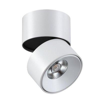 Накладной светильник Novotech 357472 TUBOОдиночные<br><br><br>S освещ. до, м2: 5<br>Цветовая t, К: 3000К<br>Цвет арматуры: белый<br>Высота, мм: 98<br>Оттенок (цвет): белый<br>MAX мощность ламп, Вт: COB 12W