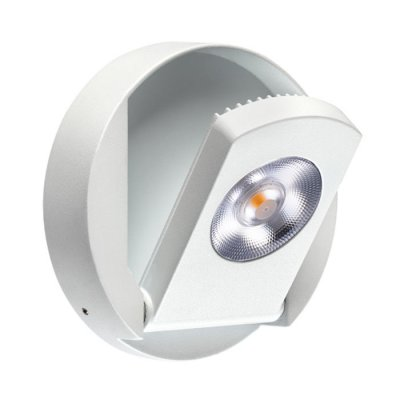 Накладной светильник Novotech 357480 RAZZOНакладные точечные<br><br><br>S освещ. до, м2: 2<br>Цветовая t, К: 3000К<br>Высота, мм: 18<br>Оттенок (цвет): белый<br>MAX мощность ламп, Вт: COB 9W