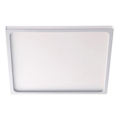 Встраиваемый светильник Novotech 357488 STEAКвадратные встраиваемые светильники<br><br><br>Цветовая t, К: 3000К<br>Ширина, мм: 170<br>Оттенок (цвет): белый<br>MAX мощность ламп, Вт: 88LED SMD2835 22Вт