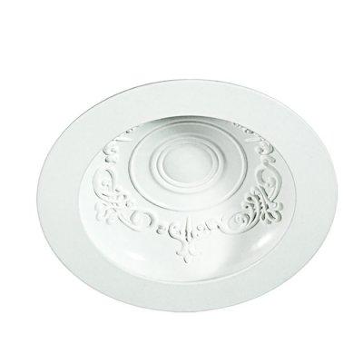 Встраиваемый светильник Novotech 357490 GESSOКруглые встраиваемые светильники<br><br><br>Цветовая t, К: 3000К<br>Оттенок (цвет): белый<br>MAX мощность ламп, Вт: 75LED SMD2835 15Вт